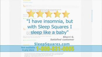 Sleep Squares TV Spot - Thumbnail 6