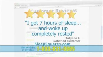Sleep Squares TV Spot - Thumbnail 7