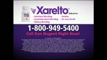 Kenneth S. Nugent: Attorneys at Law TV Spot, 'Xarelto Lawsuit' - Thumbnail 5