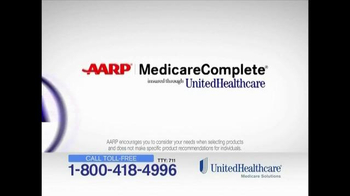 UnitedHealthcare TV Spot, 'AARP Medicare Complete' - Thumbnail 3