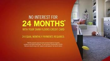Shaw Flooring TV Spot, 'Floor Now, Pay Later' - Thumbnail 6