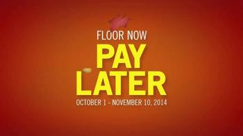 Shaw Flooring TV Spot, 'Floor Now, Pay Later' - Thumbnail 9
