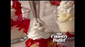 Old Country Buffet TV Spot, 'Strawberry Trio'