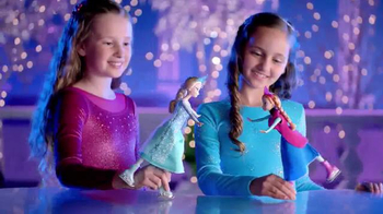 Frozen Ice Skating Anna and Elsa Dolls thumbnail