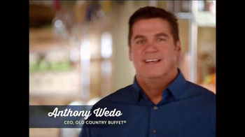 Old Country Buffet TV Spot, 'Love it or We'll Make it Right' - Thumbnail 1