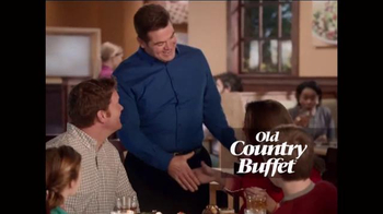 Old Country Buffet TV Spot, 'Love it or We'll Make it Right' - 54 commercial airings