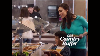 Old Country Buffet TV Spot, 'Love it or We'll Make it Right' - Thumbnail 4