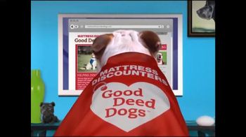 Mattress Discounters TV Spot, 'Good Deed Dogs: Helping Dogs Help Veterans' - Thumbnail 8