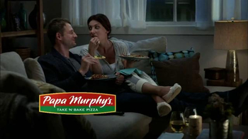 Papa Murphy's Pizza Gourmet Delite TV Spot, 'Fancy Night In' - Thumbnail 9