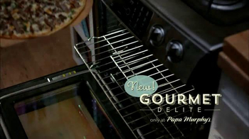 Papa Murphy's Pizza Gourmet Delite TV Spot, 'Fancy Night In' - Thumbnail 4