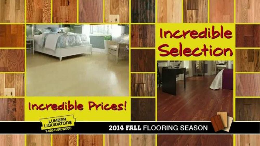 Lumber Liquidators TV Commercial, '2014 Fall Flooring Season'