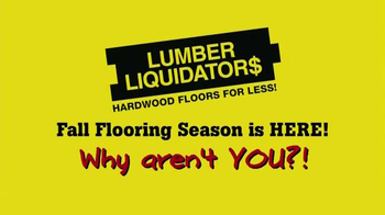 Lumber Liquidators TV Spot, '2014 Fall Flooring Season' - Thumbnail 10