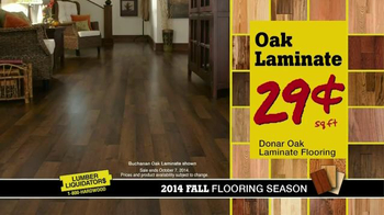 Lumber Liquidators TV Spot, '2014 Fall Flooring Season' - Thumbnail 8