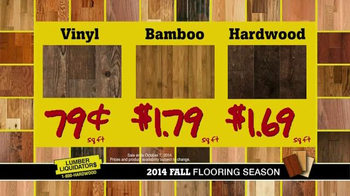 Lumber Liquidators TV Spot, '2014 Fall Flooring Season' - Thumbnail 9