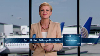 Chase United Mileage Plus Explorer TV Spot - Thumbnail 6