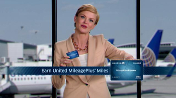 Chase United Mileage Plus Explorer TV Spot - Thumbnail 7