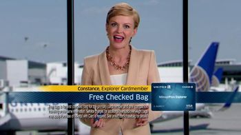 Chase United Mileage Plus Explorer TV Spot - 3127 commercial airings