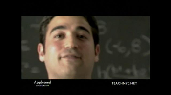 Teach NYC TV Spot, 'Mr. Lubinsky, Math' - Thumbnail 1