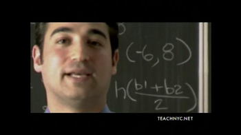 Teach NYC TV Spot, 'Mr. Lubinsky, Math' - Thumbnail 3