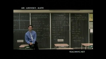 Teach NYC TV Spot, 'Mr. Lubinsky, Math' - Thumbnail 4