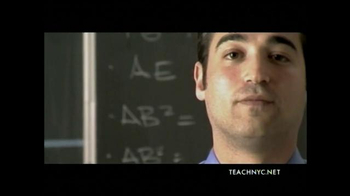 Teach NYC TV Spot, 'Mr. Lubinsky, Math' - Thumbnail 8