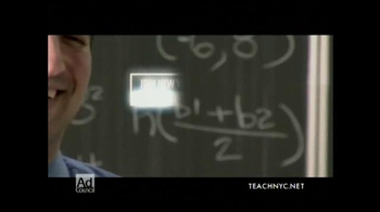 Teach NYC TV Spot, 'Mr. Lubinsky, Math' - Thumbnail 9