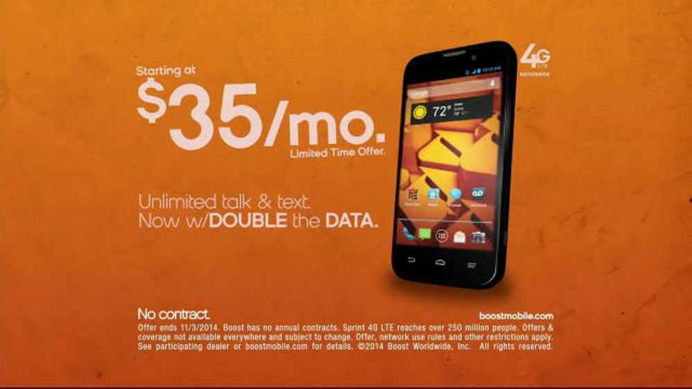 boost mobile tv commercial twice as good ispot tv