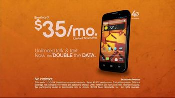 Boost Mobile TV Spot, 'Twice as Good'