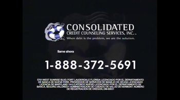 Consolidated Credit Counseling Services TV Spot, 'Cortar Pagos' [Spanish] - Thumbnail 8