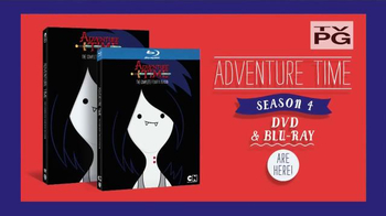 Adventure Time: The Complete 4th Season DVD & Blu-ray TV Spot