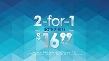 Rent-A-Center 2 For 1 Deals TV Spot, 'Double The Savings' - Thumbnail 5