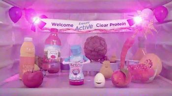 Ensure Active Clear Protein TV Spot, 'Welcome Party'