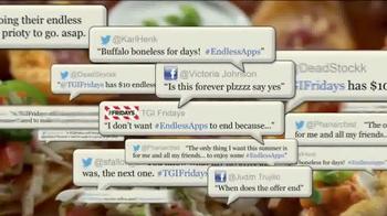 TGI Friday's Endless Appetizers TV Spot, 'Keep 'em Coming' - Thumbnail 3