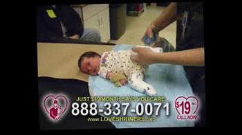 Shriners Hospitals For Children TV Spot, 'Parents of Sadie' - Thumbnail 5