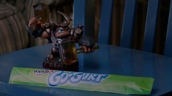 GoGurt TV Spot, 'Skylanders Trap Team' - 992 commercial airings