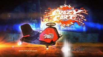 Razor Crazy Cart TV Spot, 'Spin Like a Pro'