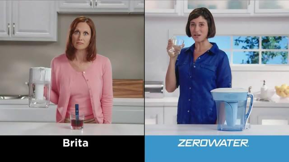 Zero Water Tv Commercial Five Step Filter Ispot Tv