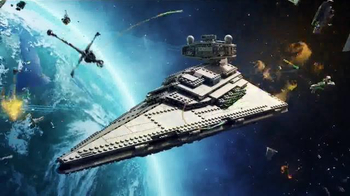 LEGO Star Wars Star Destroyer TV Spot, 'B Wing Star Destroyer' - 614 commercial airings