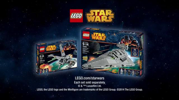 LEGO Star Wars Star Destroyer TV Spot, 'B Wing Star Destroyer' - Thumbnail 9