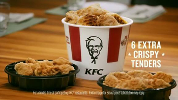 KFC Favorites Bucket TV Spot, 'Get Together' Song by The Youngbloods - Thumbnail 7