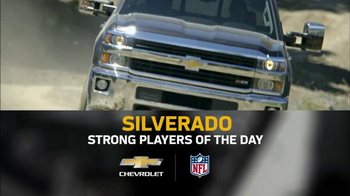 2015 Chevrolet Silverado TV Spot, 'Strong Players of the Day' - Thumbnail 7