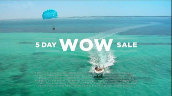 Royal Caribbean Cruise Lines 5 Day Wow Sale TV Spot, 'Destination Wow' - Thumbnail 5