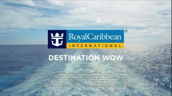 Royal Caribbean Cruise Lines 5 Day Wow Sale TV Spot, 'Destination Wow' - Thumbnail 8