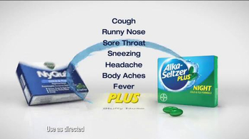 Alka-Seltzer Plus Night TV Spot, 'The Cold Truth' - Thumbnail 7