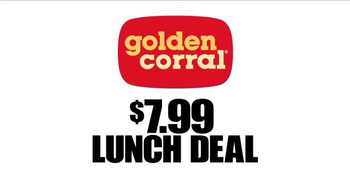Golden Corral $7.99 Endless Lunch TV Spot - Thumbnail 3