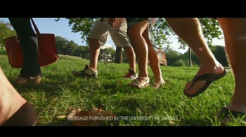 University of Kansas TV Spot, 'Shaping Those Who Shape the World' - Thumbnail 1