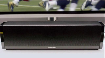 Bose CineMate 15 TV Spot, 'The Feel of an NFL Stadium' Feat. Russell Wilson - Thumbnail 5