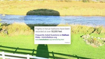 Google App TV Spot, 'Hot Air Balloons' - Thumbnail 6