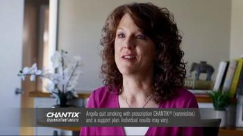 Chantix TV Spot, 'Angela Quit' - Thumbnail 2