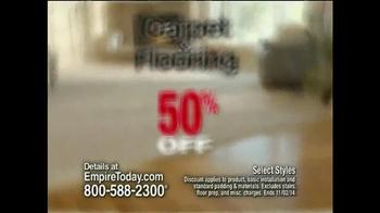Empire Today 50/50/50 Sale TV Spot, 'Biggest Sale' - Thumbnail 3